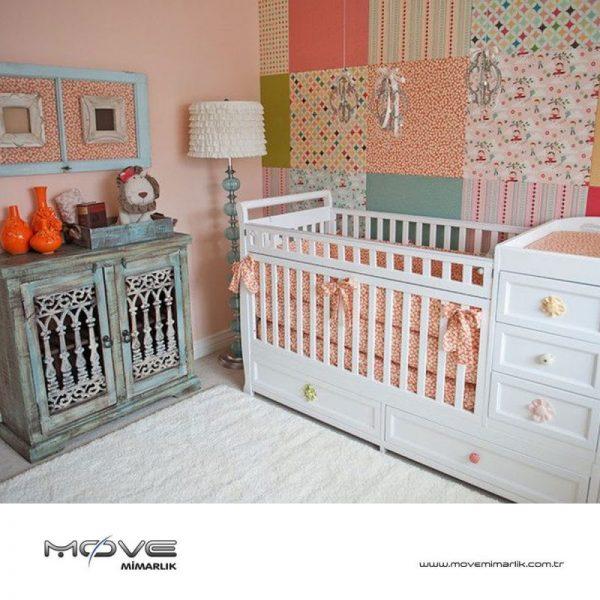 Bebek Beşiği Süslemek İçin Sevimli Yollar
